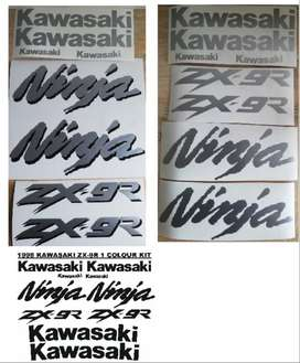 1999 ZX 9R decals stickers vinyl cut graphics kits