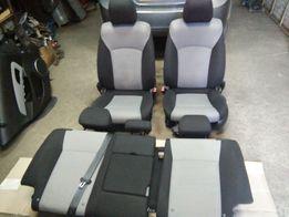 Салон сидения передние задние сидушки Шевроле Круз