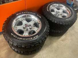 """16"""" 5/114 with new bf ko2 tyres"""