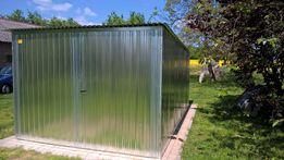Garaż Blaszany, Blaszak 3x5, Konstrukcja ocynkowana, Szybka realizacja