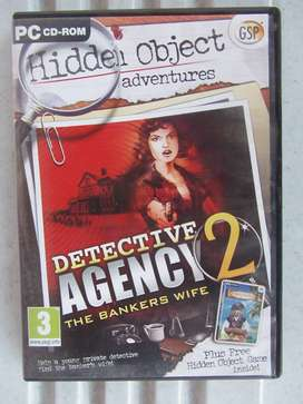 Detective Agency - PC CD Rom Game