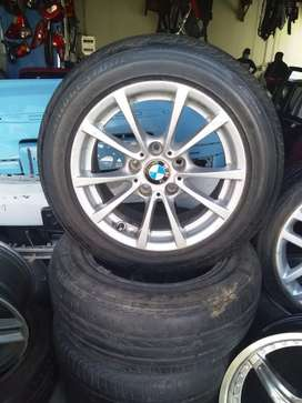 Complete set of rims and tyres for BMW E90/f30