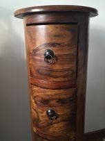 Komoda, szuflady słupek drewniany z szufladami