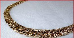 ŁAŃCUSZEK łańcuch ZŁOTY BIZANTYJSKI 62cm/90g złoto duży wybór wrocław