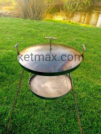 Сковорода из диска с подставкой для огня,садж,мангал,гриль Каменец-Подольский - изображение 1