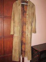 Płaszcz Skórzany - vintage, bardzo oryginalny