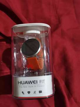 Huawei p10 smartphone with smart watch