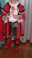 Strój karnawałowy muszkietera 6-7 lat
