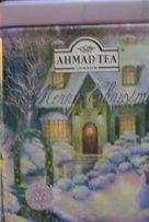 Большой лист. черн. чай Ахмад в Новогодней музыкальн. шкатулке, 125гр