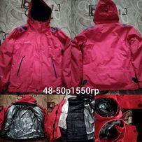 Лыжная куртка 48-50р.adedas,calumbia,48-50,1550гр.