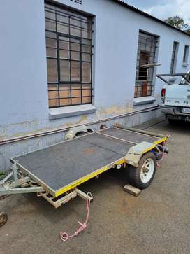 Galvanised Folding Trailer