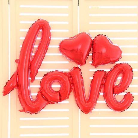 Balon napis LOVE na Walentynki, ślub, wesele i nie tylko Suchy Las - image 1