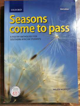 UNISA: Seasons come to pass - collection of poems.