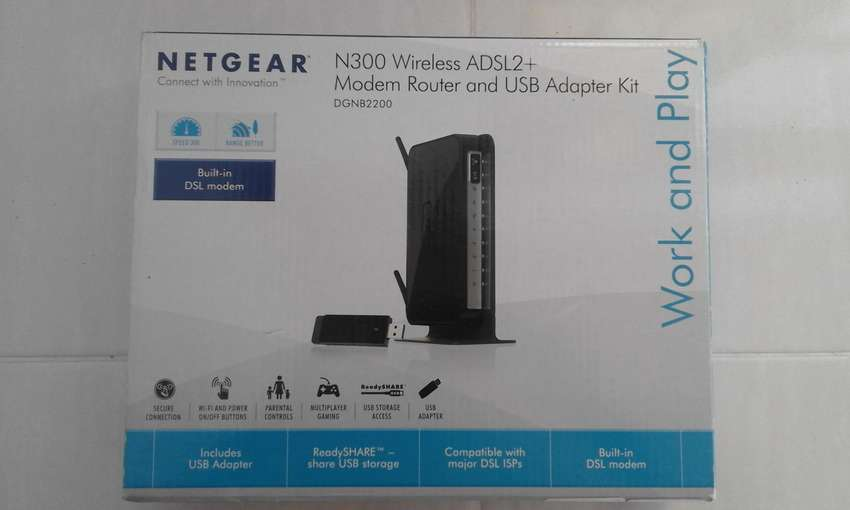 Modem/Router for Internet and Wi-Fi. 300 mbps. 0