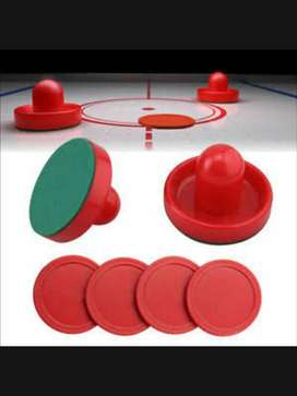 Air Hockey Pucks and Paddles - Replacement Set Value Pack