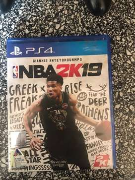 Ps4 game NBA2K19