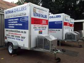 Coldroom hire, mobile fridge hire freezer hire, outdoor chillers