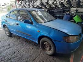 NISSAN ALMERA STRIPPING FOR PARTS