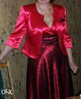 Вечернее платье с пиджаком. Размер 44-46,