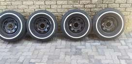Bakkie  rims  and  tires