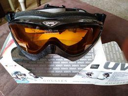Uvex Corus gogle damskie narty snowboard czarne kartonik