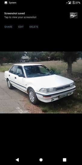 Toyota corolla for sale at the price of R27K