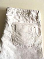 Burberry jeans spodnie białe