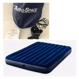 Air-O-Space Instant Bed In A Bag Blow Up Mattress