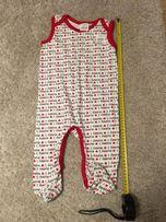 Nowy Śpioch niemowlęcy 7-12M 74cm śpioszek i love mummy