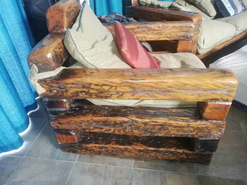 Sleeper wood couches 0