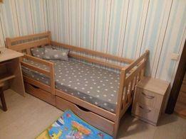 Купить детскую кровать Колобок из дерева, мебель в детскую