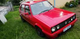 1,3 golf.. Few things too do then u got a good car. Got a bit of rust