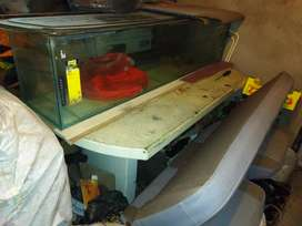 2 fish tanks and accessories