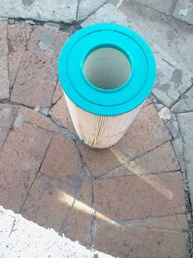 Jacuzzi heater casing with element and large filter