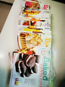 Baked and delicious recipe books