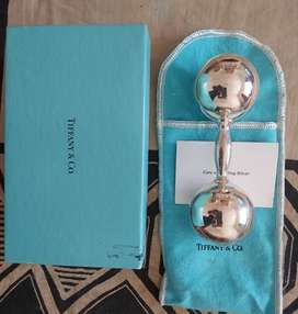 TIFFANY & CO Sterling Silver Baby Rattle