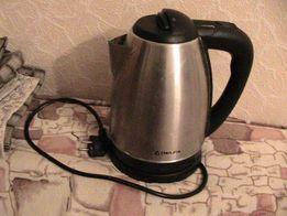 Электро чайник DELFA. 1.7литра Б/У. Почти НовыйУкраина. Киев. Вишнёвое
