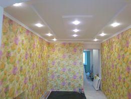 Ремонт квартир: гипсокартон, шпаклёвка, штукатурка, покраска, откосы