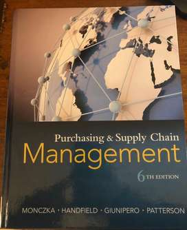 Purchasing & Supply Chain Management 6th Edition