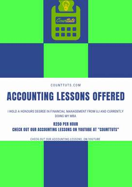 Accounting Tutor Available