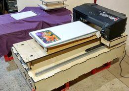 Текстильный планшетный принтер, по керамике, дереву