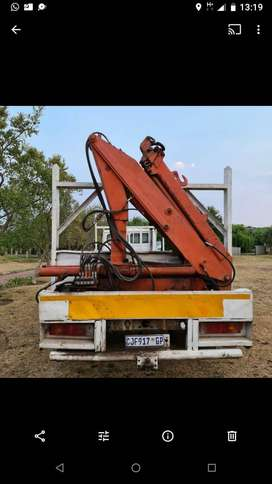 crane truck for sale at a give away price