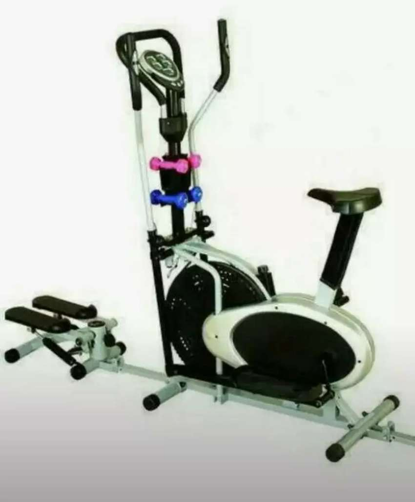 Brand New 4handle With Stepper Obitrac Stationary Bike 0