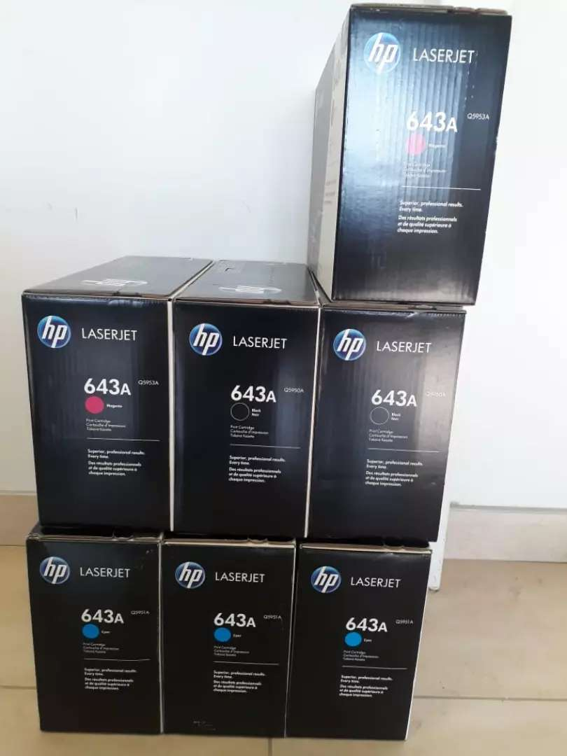 Ink cartridges and toners 0