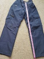 Spodnie zimowe, na narty, snowboard rozm 122 cm, prawie nowe - K1