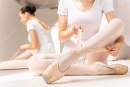 Wiązanie kapcie baleriny