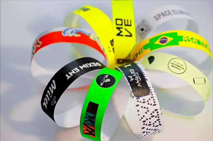 Tyvek Event wristbands \ event tags \ paper wristbands 0