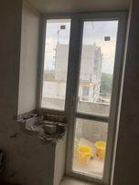 металлоппластиковая дверь и окно бу