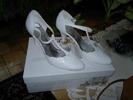 """,, Białe Ślubne Buty"""""""
