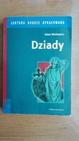 Lektura Dziady A. Mickiewicz z opracowaniem